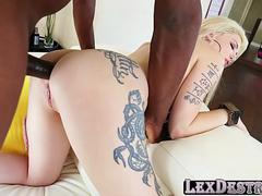 Super gorgeous Indigo Augustin goes to an audition an gets hammered
