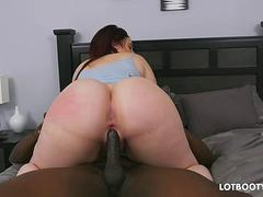 Thick butt bbw Virgo Peridot gets fucked by black dick