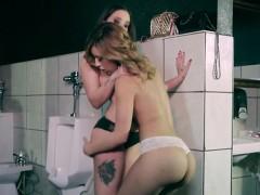 Luscious Closeted Lesbians Seduce Each Other