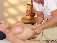 massaged babe ass jizzed hardcore