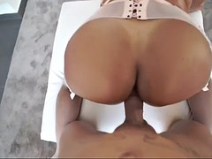 big ass milf in lingerie perla berne gets fucked in wild positions