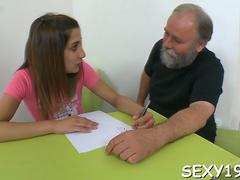 hot beauty is getting drilled segment video 1
