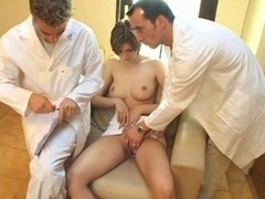 Jug exam by 2 doctors