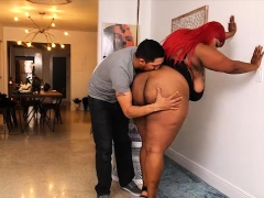 Sexy Exotic Ebony BBW Dippd N Redd and Juan Largo
