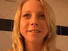 Czech Kitten Jane Give bj And besides Get down and dirty