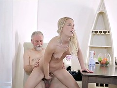 old guy fucks the maid