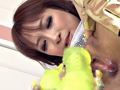 JAPAN HD Japanese babe squeeks for Creampie