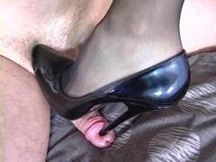 Dominatrix in Stockings Leg & Foot Fetish