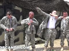 TROOPCANDY - Gay Military Glory Hole Day of Reckoning