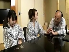 Asiático, Peludo, Sexo duro, Japonés, Trio
