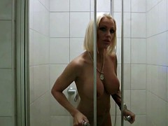 German Hot Mother caught and Fucked by big Dick in Shower