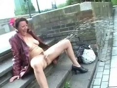 Upskirt public self-satisfaction and also undressed outdoor flashing