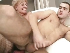 Strapon-wearing hotties fuck pussies and assholes