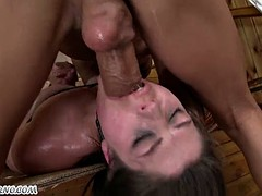 cheating wife gets anal punishment