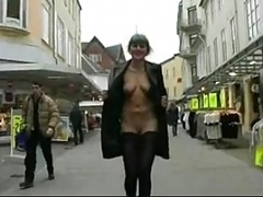 Gals get fucked in the streets