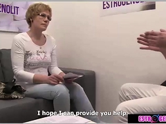 Doctor fucked old woman
