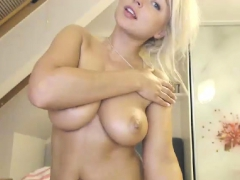 Passionate Blonde Nymphomaniac