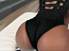 one big white cock for two flirtatious ebony hoes cherry hilson and nadia jay