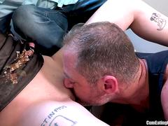 Sissy boy is forced to watch and clean by Charlotte Sartre