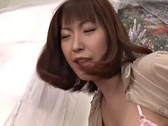 fascinating japanese gangbang