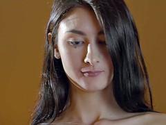 Брюнетки, Пальцем, Секс без цензуры, Поцелуи, Лесбиянка, Белье, Мастурбация, Сиськи