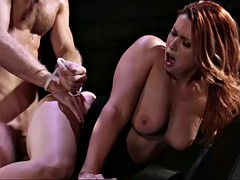 nasty mistress edyn blair punishes a cheater with her pussy