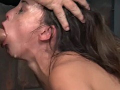miserable devilynne gets humiliatingly fucked by two masters