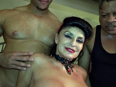 Granny Goes Black-Dirty White GILF gets BBC fuck of her life