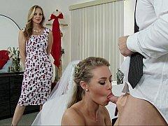 Американки, Блондинки, Невеста, Две девушки, Секс без цензуры, Порнозвезда, Втроем, Свадьба