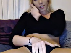 adorable amateur blond shemale prostitute