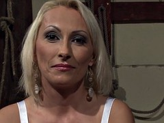 Euro milf dominated by black cock