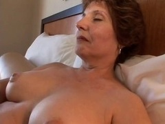 chubby aged has an intercourse in hotel room