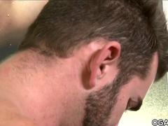 Horny muscular gays fuck each other