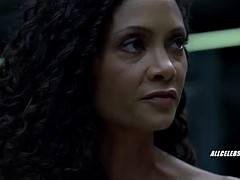 Thandie Newton in Westworld - s01e06