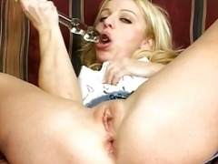 Black cum cannon for interracial fucking
