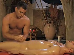 handjob massage makes your penis to relax