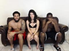 Enthousiasteling, Hondjeshouding, Groepseks, Interraciaal, Webcamera