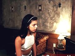 Blonde teen all holes Poor little Latina teen Gina Valentina is indeed not having a fine