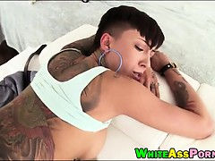Super big ass Bella Bellz analyzed hard by massive hard cock
