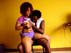 Amateur African Lesbians Pussy Licking Fingering