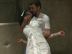 Nurse Asphyxia Noir gets ravished by mental patient