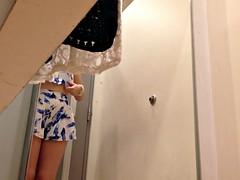 Classy Woman Inside a Dressing Room