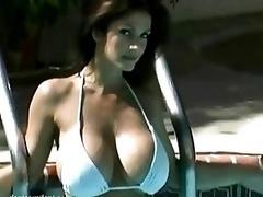 Denise Milani stunning boobs