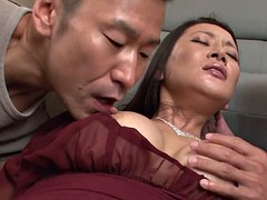 hot asian gets threesome