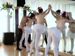 Teen seduces best comrade' friend's brother Ballerinas