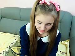 Amateur, Blonde, Branlette thaïlandaise, Adolescente, Webcam