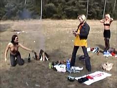 Public Slut - Three Girls