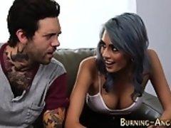Alt punk slut gets fucked