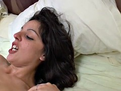 Young amateur french arab beurette analyzed DP n facialized