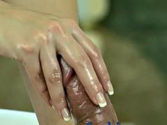 Grosse titten, Fußfetisch, Massage, Orgasmus, Erotischer film